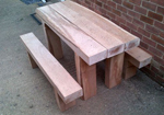 durable commercial timber tables on a budget