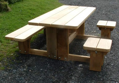 Wheelchair Accessible Picnic Tables - Wheelchair picnic table