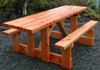 solid timber school tables for sheltered areas