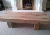 indoor solid timber table