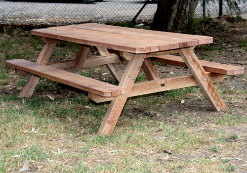 Australian Picnic Tables Made In Melbourne Custom Made Wooden Picnic - Timber picnic table