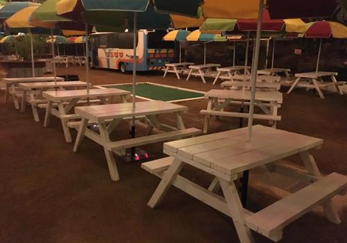 Magnificent Commercial Grade Picnic Tables Melbourne For Public Areas Machost Co Dining Chair Design Ideas Machostcouk
