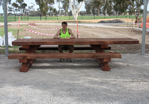 Sleeper Special Picnic Table