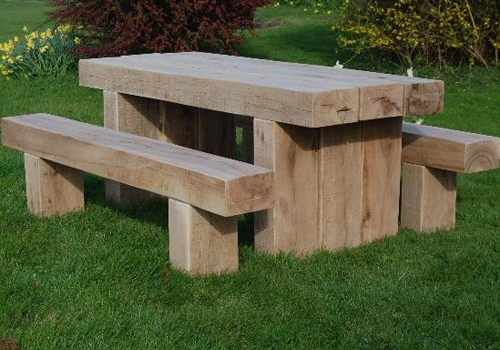 Solid Timber Outdoor Tables Manufactured In Melbourne